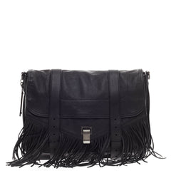 Proenza Schouler PS1 Fringe Runner Leather Large