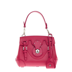 Ralph Lauren Collection Ricky Crossbody Leather Mini