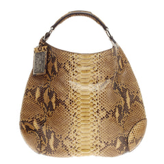 Ralph Lauren Collection Bohemian Hobo Python