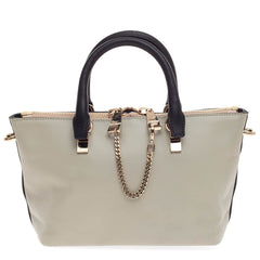 Baylee Satchel Bicolor Leather Mini