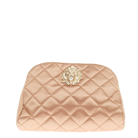 b93934c82b7c07 Buy Chanel Leo Lion Clutch Quilted Satin Small Pink 436801 – Rebag