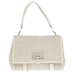 Proenza Schouler Courier Woven Leather Large