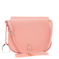 Ralph Lauren Collection Saddle Flap Shoulder Bag Leather -