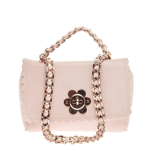 cf3a14a46927 Cecily Flower Handbag Leather Small