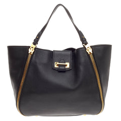 Tom Ford Sedgwick Zip Tote Leather