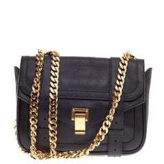 Proenza Schouler Double Bag with Chain Leather Small