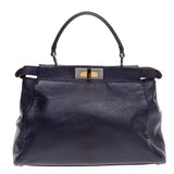 Fendi Peekaboo Leather Regular