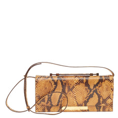 The Row Classic Convertible Baguette Python