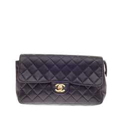 Chanel Classic Flap Backpack Quilted Lambskin Medium