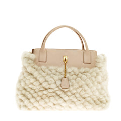 Marc Jacobs Satchel Lock Mink
