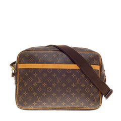 Louis Vuitton Reporter Crossbody Monogram Canvas GM