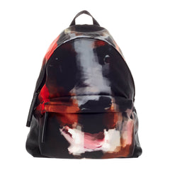 Givenchy Abstract Backpack Doberman Print