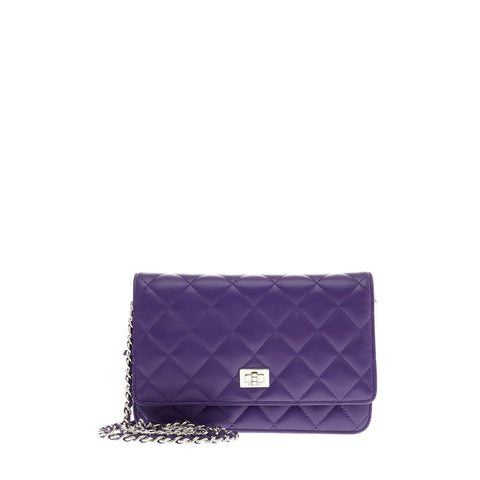 37e2b4dbb5f4 Buy Chanel Wallet on Chain Reissue Lambskin Purple 91202 – Rebag