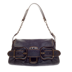 Fendi B. Shoulder Bag Leather