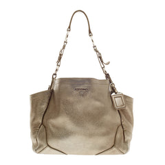 Prada Side Pocket Hobo Vitello Daino