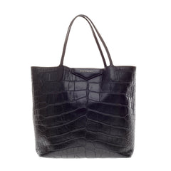 Givenchy Antigona Shopper Embossed Crocodile Large