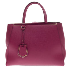 Fendi 2Jours Leather Medium