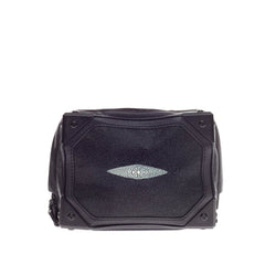 Alexander Wang Jade Clutch Stingray Leather