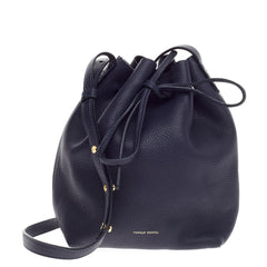 Mansur Gavriel Bucket Bag Tumbled Leather Mini