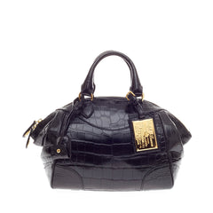 Ralph Lauren Bedford Satchel Alligator