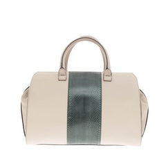 Victoria Beckham Soft Victoria Tote Leather and Watersnake