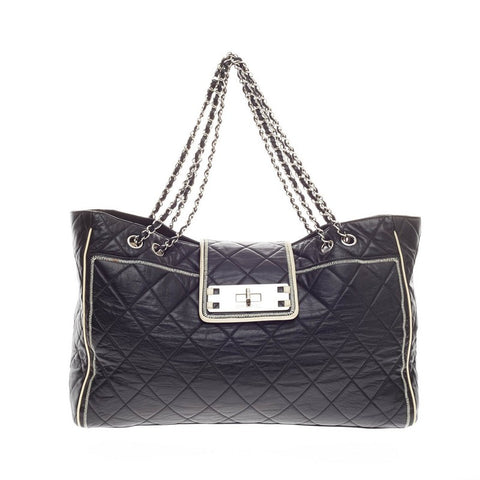 8e48a6de72d1 Buy Chanel Reissue East West Tote Quilted Lambskin Large 163704 – Rebag