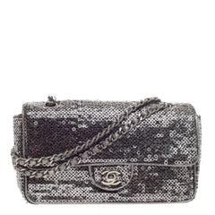 Chanel Classic Single Flap Sequins Medium
