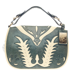 Ralph Lauren Cowboy Saddle Bag Lizard -
