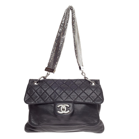 Buy Chanel Chain Mail Shoulder Flap Bag Quilted Lambskin 460809 – Rebag fd4cb897141a6