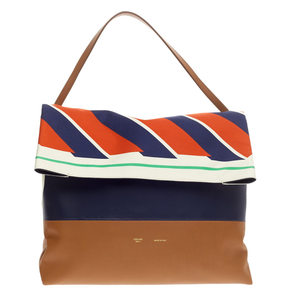 celine tri-color all soft tote