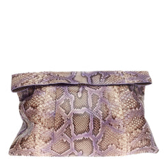 Nancy Gonzalez Flap Shoulder Bag Python