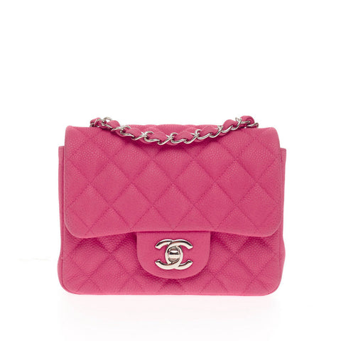 312a319a0760 Buy Chanel Square Classic Single Flap Bag Matte Caviar Mini 225101 ...