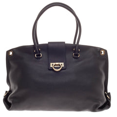 Salvatore Ferragamo Soft Sofia Tote Leather Large