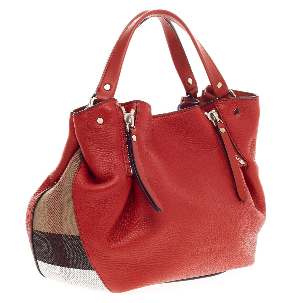 aa314c2fc1 Buy Burberry Maidstone Convertible Satchel Leather and House 393201 ...