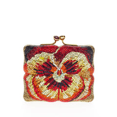 Floral Minaudiere Crystal Small