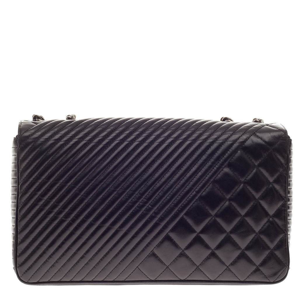 d3a73e94f311 Buy Chanel Coco Boy Flap Bag Quilted Lambskin Large Black 332701 – Rebag