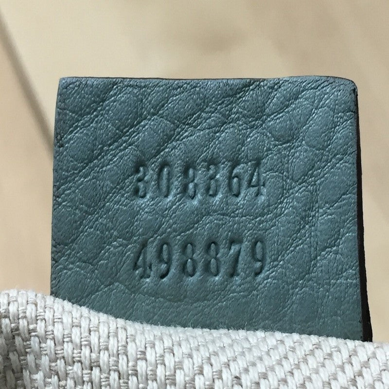 21434098b9d Buy Gucci Soho Disco Crossbody Leather Small Teal 287301 – Rebag