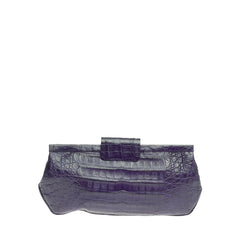 Nancy Gonzalez Frame Clutch Crocodile Long