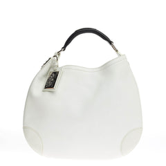 Ralph Lauren Collection Open Hobo Leather Large