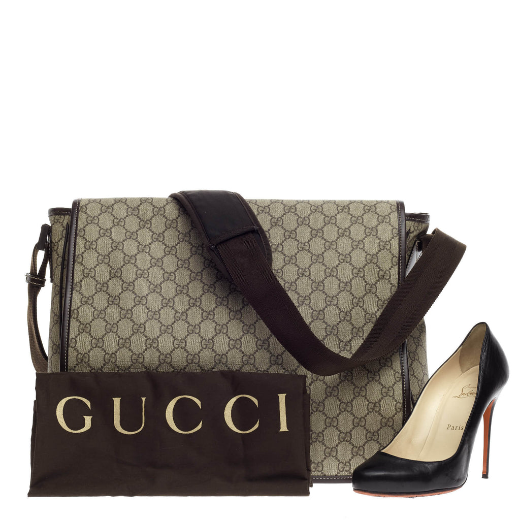 d734754a23f Buy Gucci Interlocking G Messenger Bag GG Coated Canvas Large 665501 ...