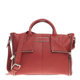 Alexander McQueen De Manta Convertible Zip Tote Leather Large