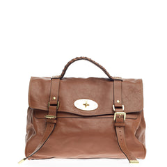 Mulberry Alexa Satchel Soft Buffalo Medium