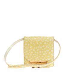 The Row Soft Classic Shoulder Bag Snakeskin Small