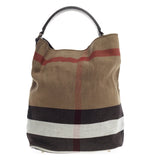 Burberry Ashby House Check Canvas Medium
