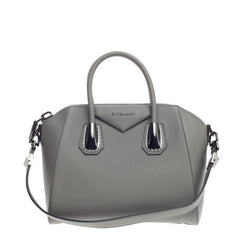 Givenchy Antigona Bag Leather and Kenya Metal Small