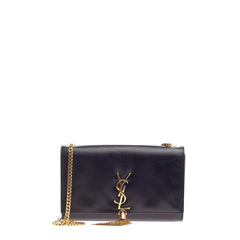Saint Laurent Classic Monogram Tassel Crossbody Leather Medium