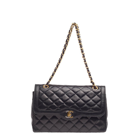 4e36adf4c026 Buy Chanel Vintage Two Tone Hardware Flap Bag Quilted 744301 – Rebag