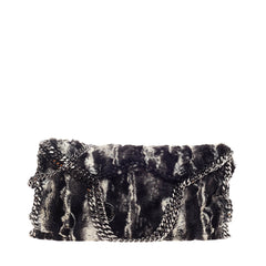 Stella McCartney Falabella Fold Over Faux Fur
