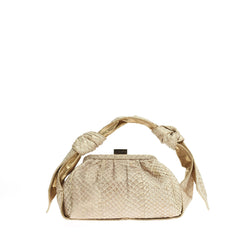 Givenchy Knots Frame Bag Python Small