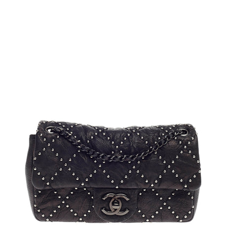 87ef6ceca728 Buy Chanel Paris-Dallas Flap Bag Quilted Studded Distressed 668701 – Rebag